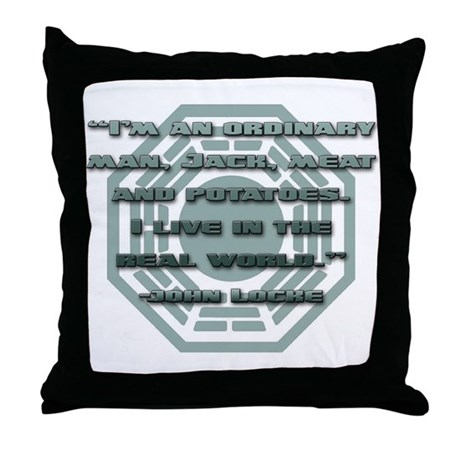 Meat And Potatoes Throw Pillow