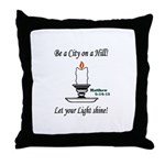 Shining Light Throw Pillow
