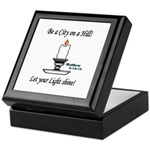 Shining Light Keepsake Box