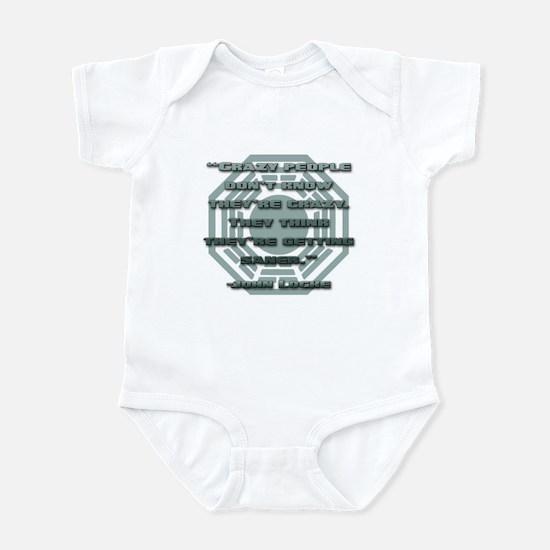 Crazy People Infant Bodysuit