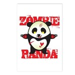 Zombie Panda Postcards (Package of 8)