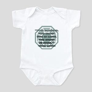 Backgammon Infant Bodysuit