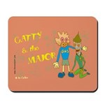 Catty & the Major Mousepad