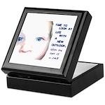 Child's Eyes Keepsake Box