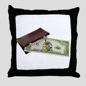 Business Success Throw Pillow