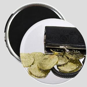 Coins Purse Gold Magnet