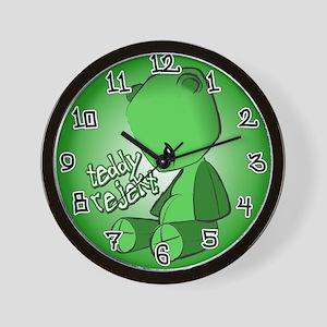 Teddy Rejekt Wall Clock
