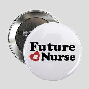 """Future Nurse 2.25"""" Button"""