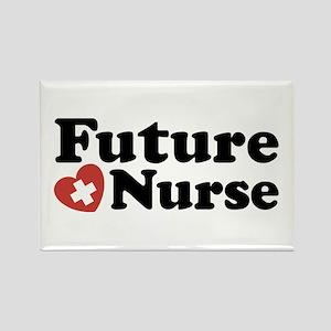 Future Nurse Rectangle Magnet