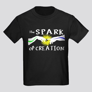 Spark of Creation Kids Dark T-Shirt