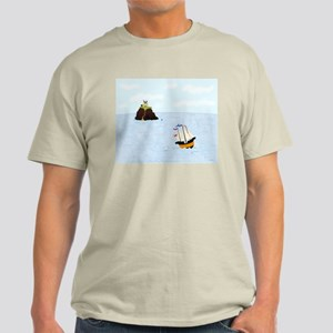Sailing by the Castle Light T-Shirt