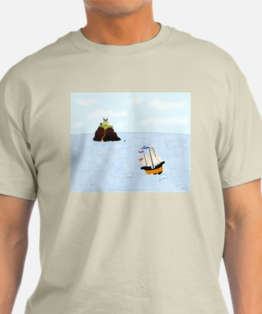 Sailing by the Castle T-Shirt