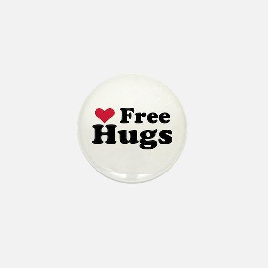 Free Hugs Mini Button