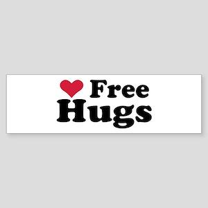 Free Hugs Bumper Sticker