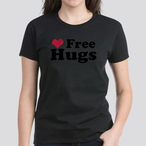 Free Hugs Women's Dark T-Shirt