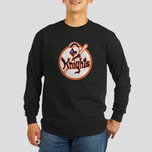 New York Knights Long Sleeve Dark T-Shirt