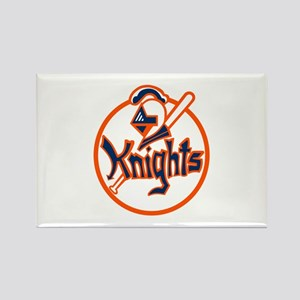 New York Knights Rectangle Magnet