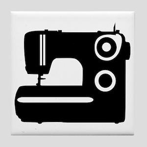 Sewing machine Tile Coaster
