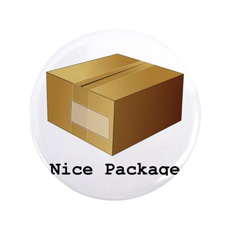 """Nice Package 3.5"""" Button"""