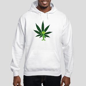 Spaced People Hooded Sweatshirt