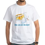Pelican Dad White T-Shirt