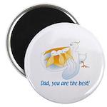 Pelican Dad Magnet