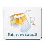 Pelican Dad Mousepad