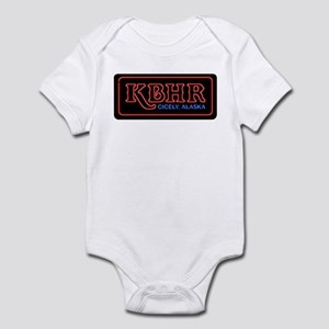 KBHR Neon Sign Infant Bodysuit