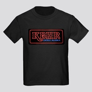 KBHR Neon Sign Kids Dark T-Shirt