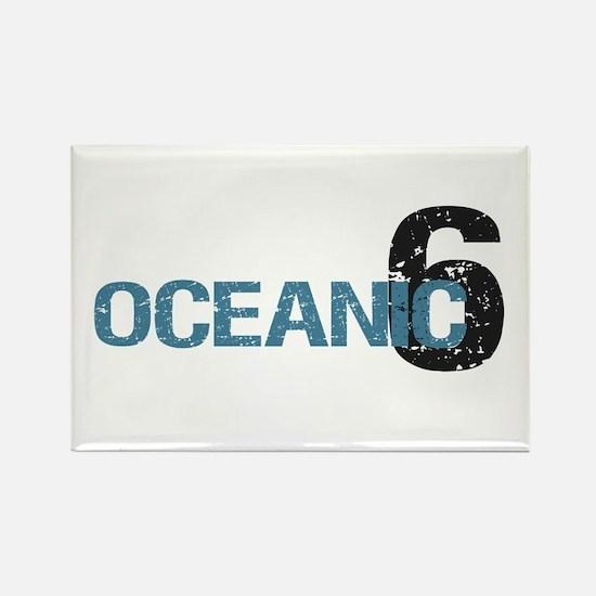 Oceanic 6 Rectangle Magnet