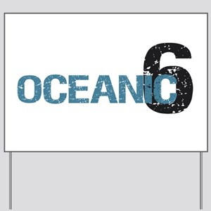 Oceanic 6 Yard Sign