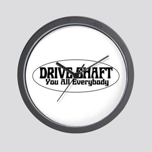 Drive Shaft You All Everybody Wall Clock