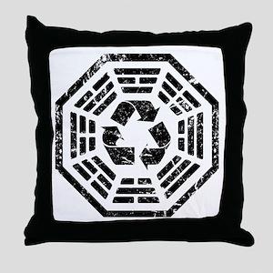 DHARMA Recycle Throw Pillow