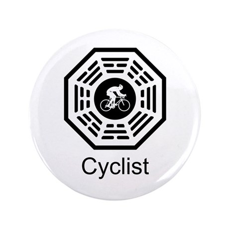 "Cycling Dharma 3.5"" Button"