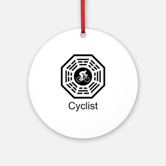Cycling Dharma Ornament (Round)