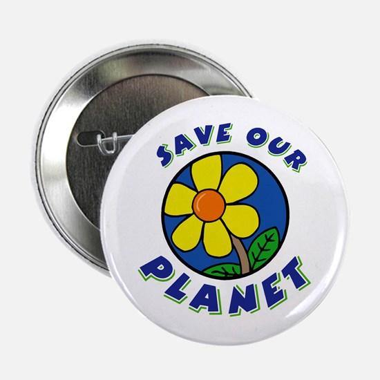 Save Our Planet Button