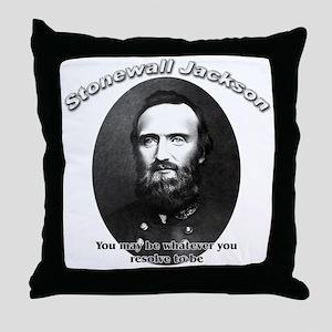 Stonewall Jackson 02 Throw Pillow