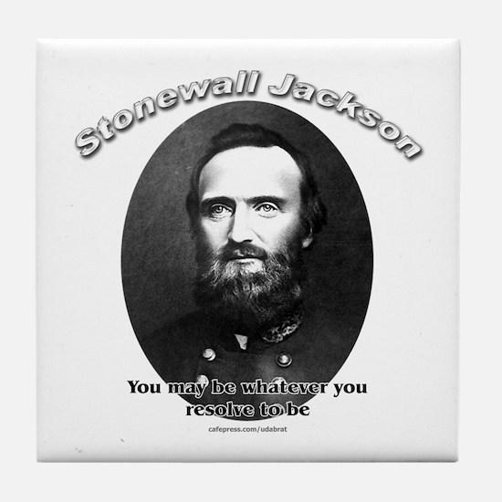 Stonewall Jackson 02 Tile Coaster