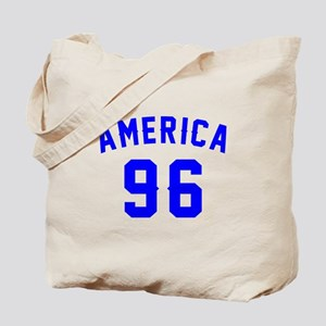 America 96 Birthday Tote Bag