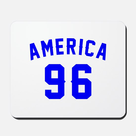America 96 Birthday Mousepad