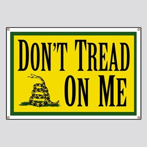 Dont Tread On Me Banner