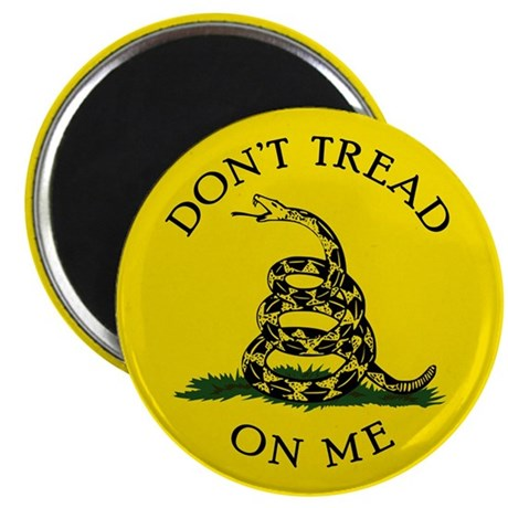 """Dont Tread On Me 2.25"""" Magnet (10 pack)"""