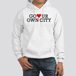 Go Heart Your Own City Hooded Sweatshirt