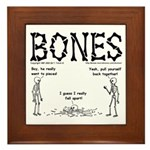 BONES Framed Tile