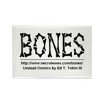 BONES Rectangle Magnet (10 pack)