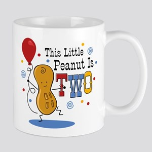 Little Peanut 2nd Birthday Mug