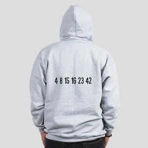 Lost Numbers Zip Hoodie