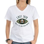 Lost 2020 Women's V-Neck T-Shirt