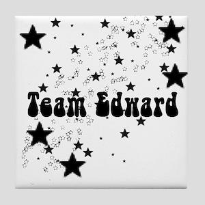 Team Edward Tile Coaster