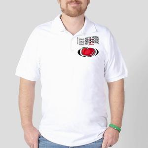 Grip Wear New York Golf Shirt